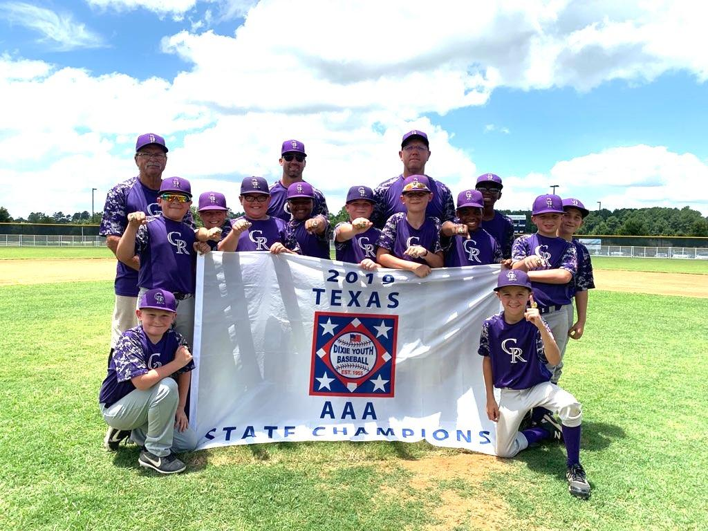 Center Roughrider 10U Dixie Youth Baseball team is World Series