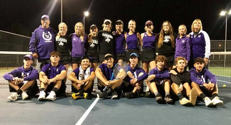 The Riders tennis team is off to the Regional Semi-Finals in Bryan