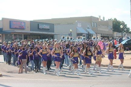 Center High Marching Band