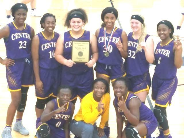 The Center Lady Roughriders basketball team is seen after early season tourney action where they took first place in the Pineywoods Community Academy Tourney in Lufkin/Courtesy photo Leslie Byndom-Bell.