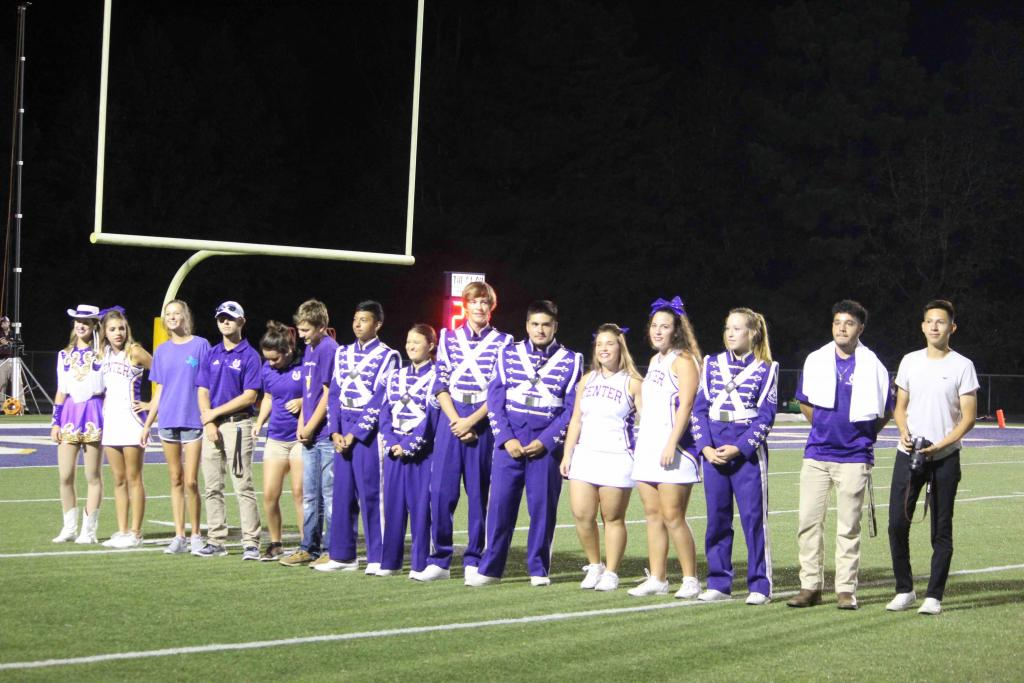 Center Tennis team honored