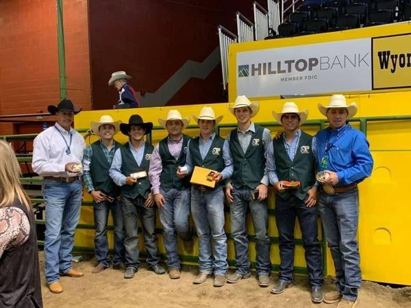 The Panola College Men's Rodeo Team won the National Intercollegiate Rodeo Association National Championship last summer in Casper, Wyoming.