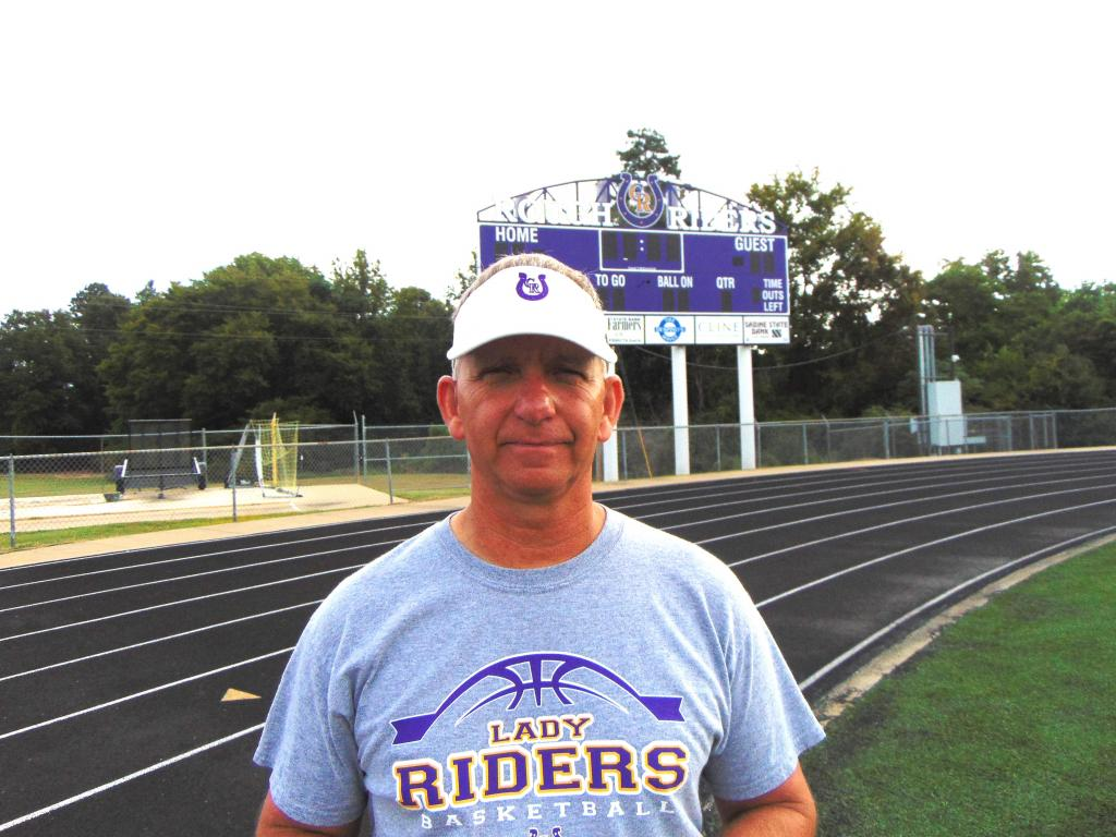 Center Roughrider Cross Country Coach Doug Boone