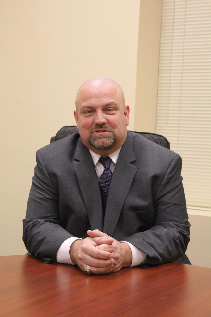 Dr. Brian Morris, Lone finalist for Center ISD's superintendent's job.