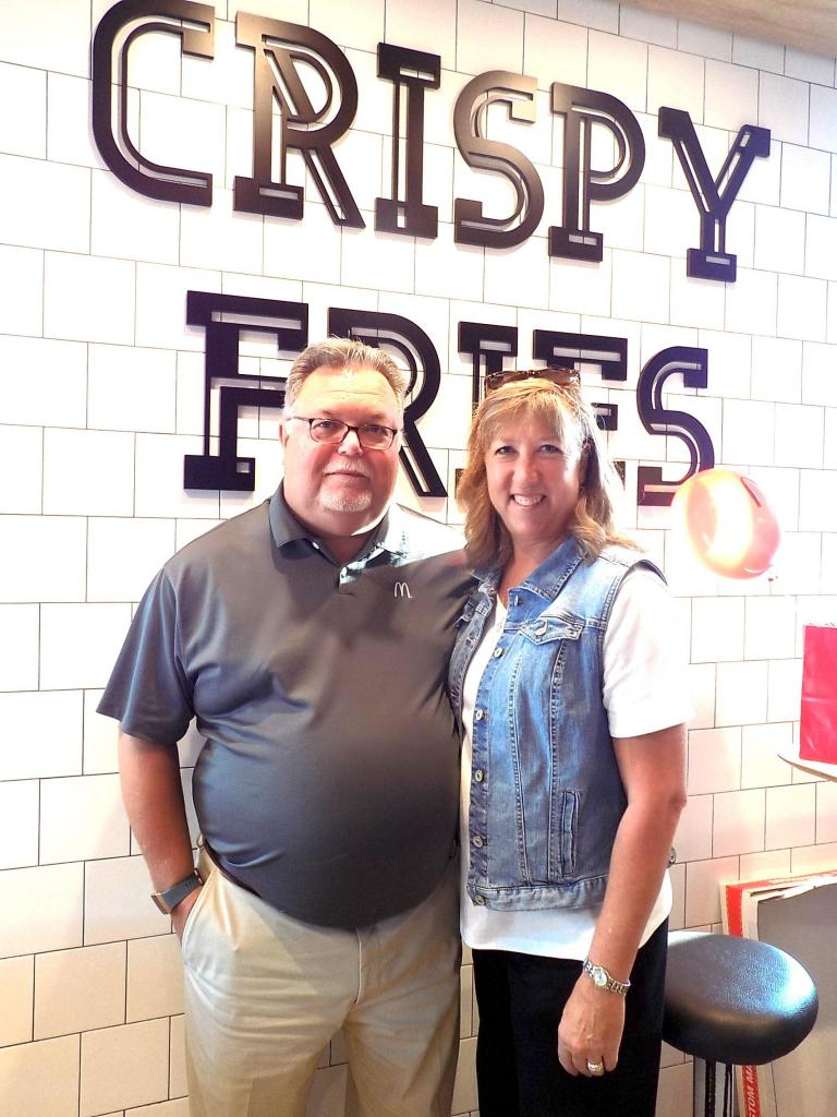 Franchise owners Rory and Melissa Messick