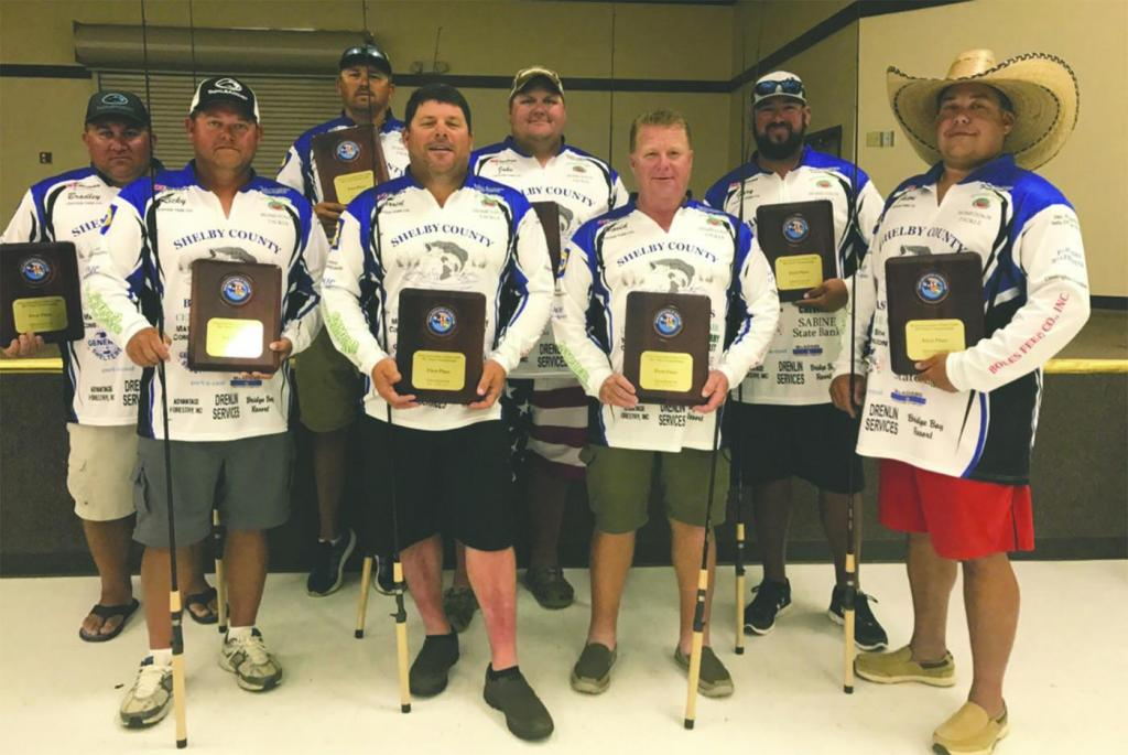 Pictures left to right: Bradley Odom, Ricky Sims, Josh Sowell, Darren Wiggins, Jacob Permenter, David Koonce, Gary Walpole, and team captain Jason Wells.