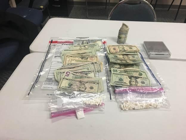 """approximately 27 grams of """"Crack Cocaine"""" was located along with approximately 3.69 grams of Ecstasy and approximately 1,000.00 dollars in U.S. Currency believed to be proceeds of the illegal narcotics sales."""