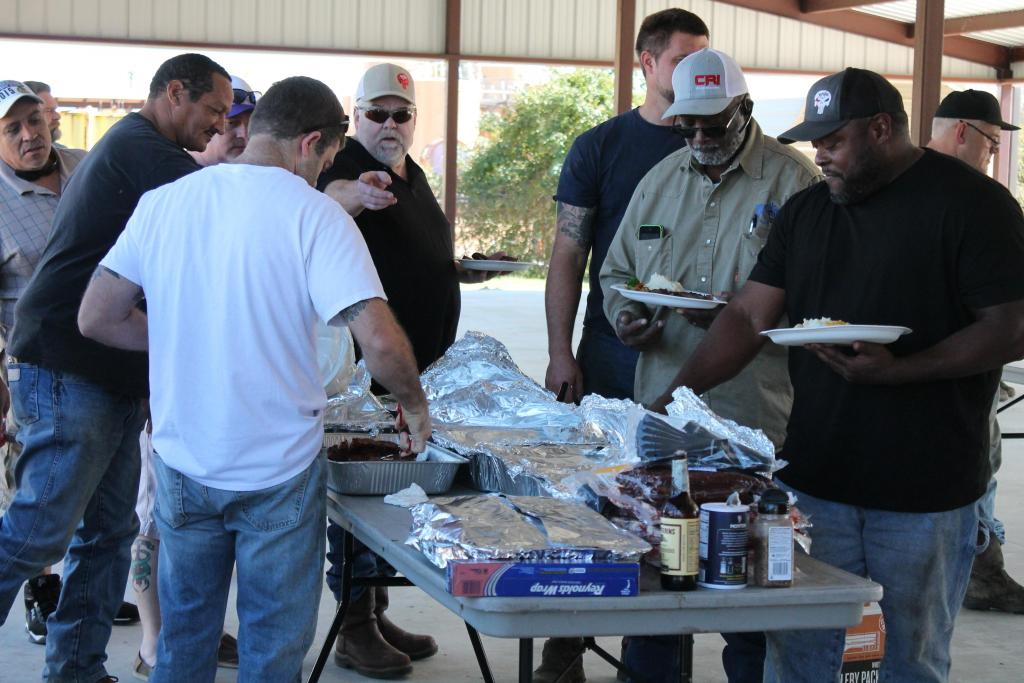 Tri-State Vacuum and Rentals' staff and drivers enjoyed a steak dinner at the ceremony.