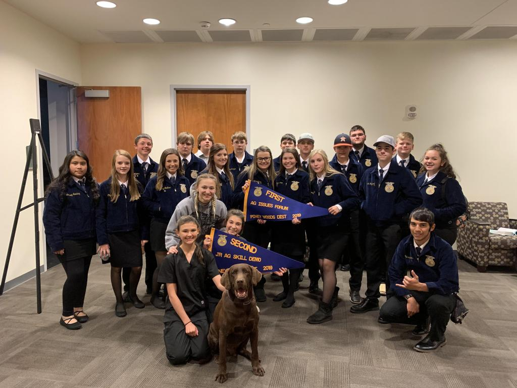 The Shelbyville Ag Issues and Junior Skills Team both took top honors in district competition.