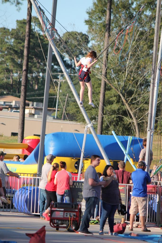 Scene from Sunday afternoon's Fall Festival at Center First UPC.