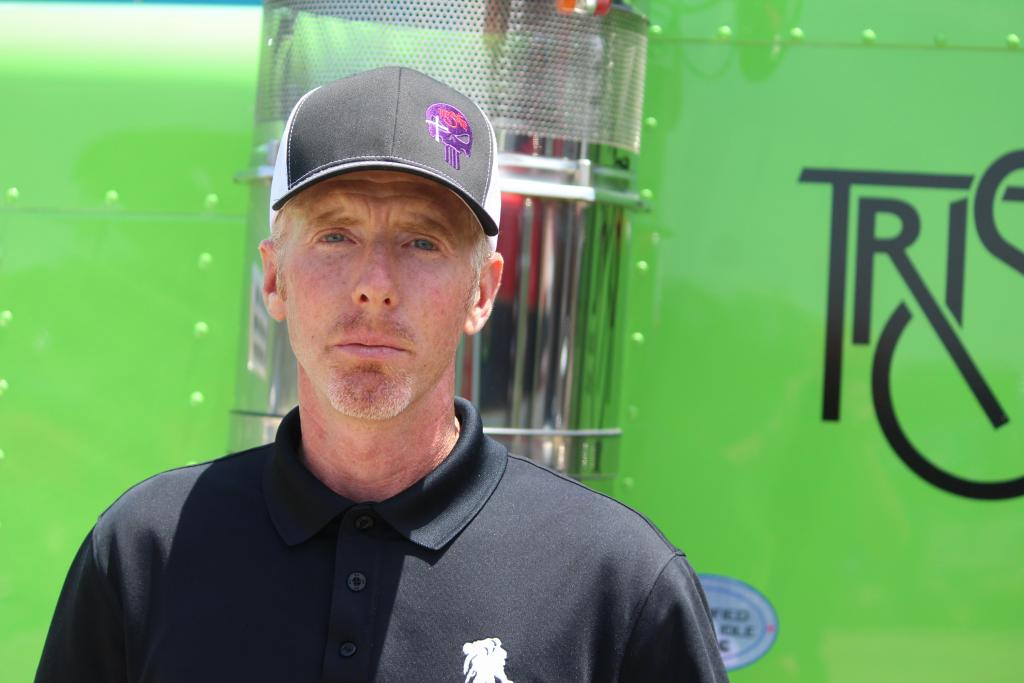 Troy Massey with 100th truck added to Tri-State's fleet