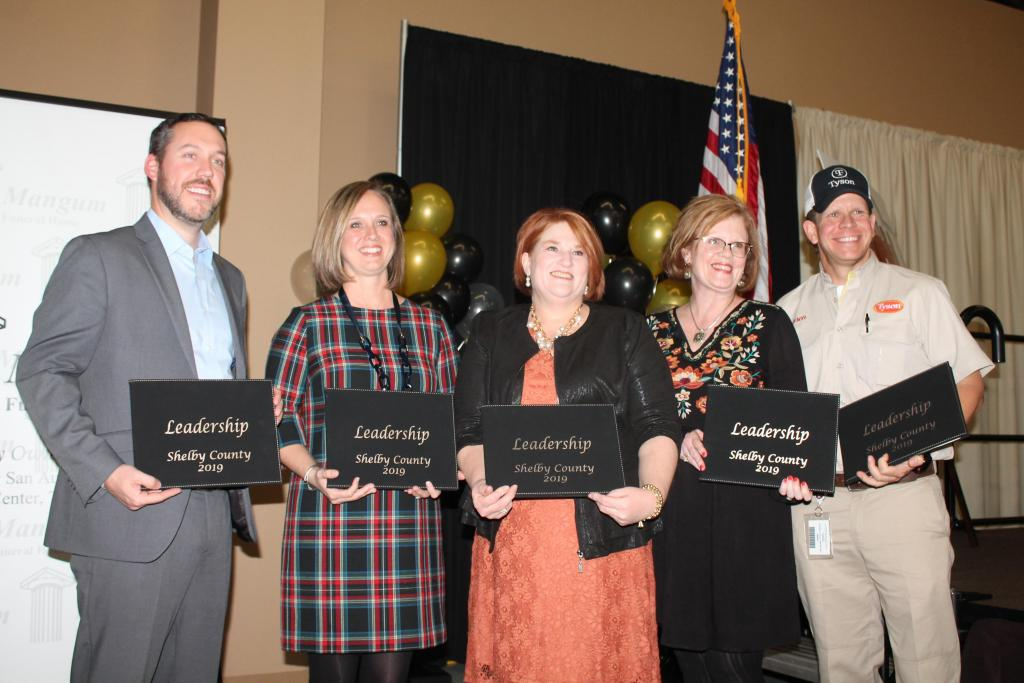 2019 graduates of Leadership Shelby County who attended were recognized.