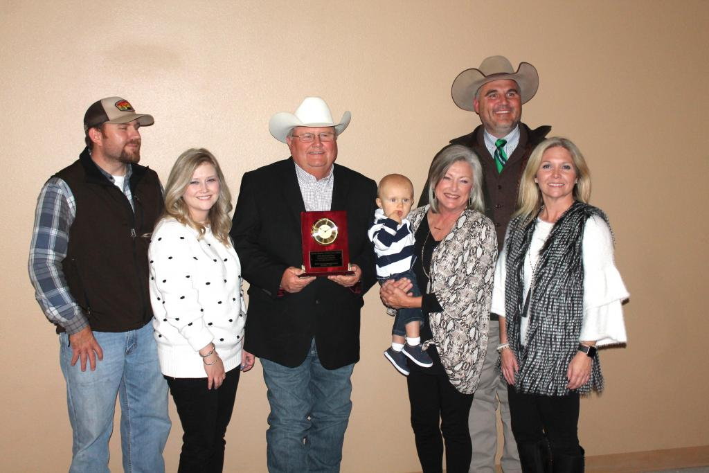 The Farm Family of the Year - the John Paul and Dixie Lawson Family