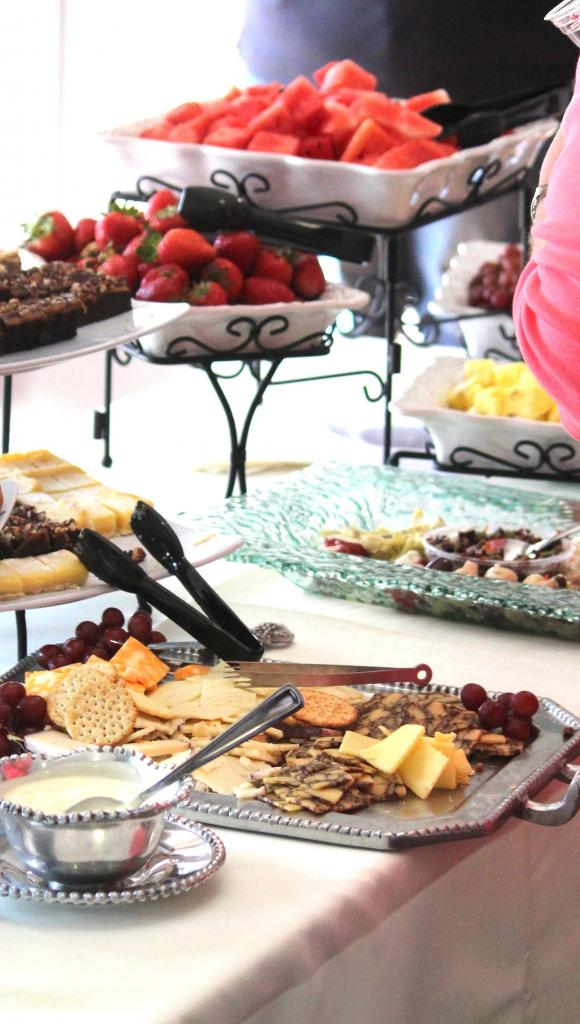 Catering was by Endless Possibilities and Rose Spector.