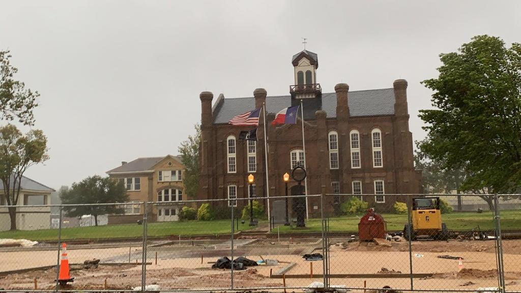 Shelby County's 1885 historic courthouse.