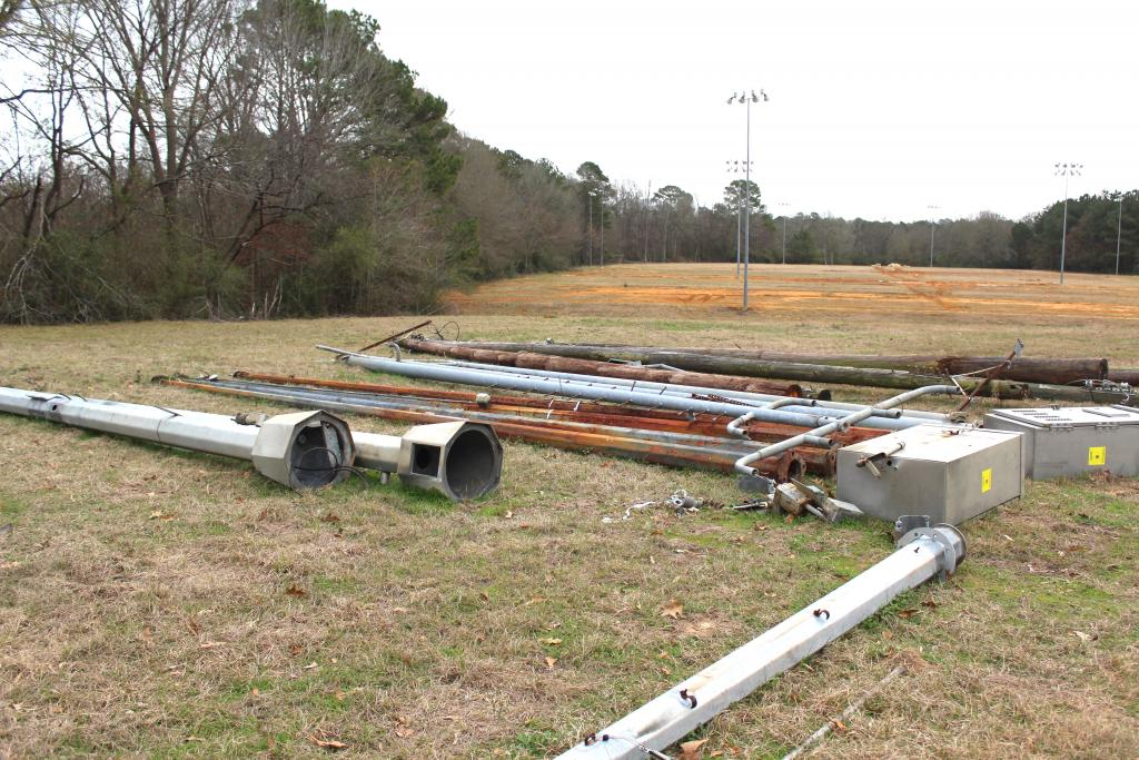 Center Soccer Park includes about 21 acres being renovated for soccer play.