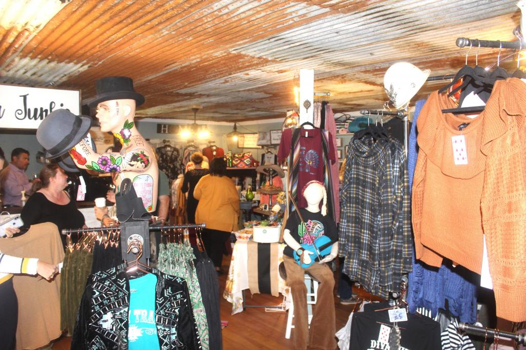 Vintage Junkie owner Susan Gaddy has expanded her store to allow more vendors with great lines to sell. (File photo- Octoer 2018)