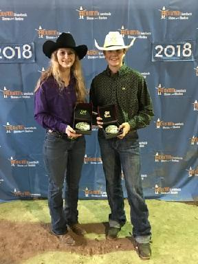 Hunter and Loren finished as Reserve Grand champions and received buckles