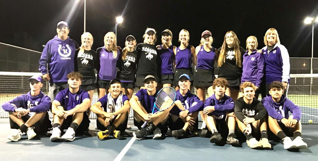 There were smiles all around on Friday after Rider Tennis earned the 2019 Regional 4A Championship.