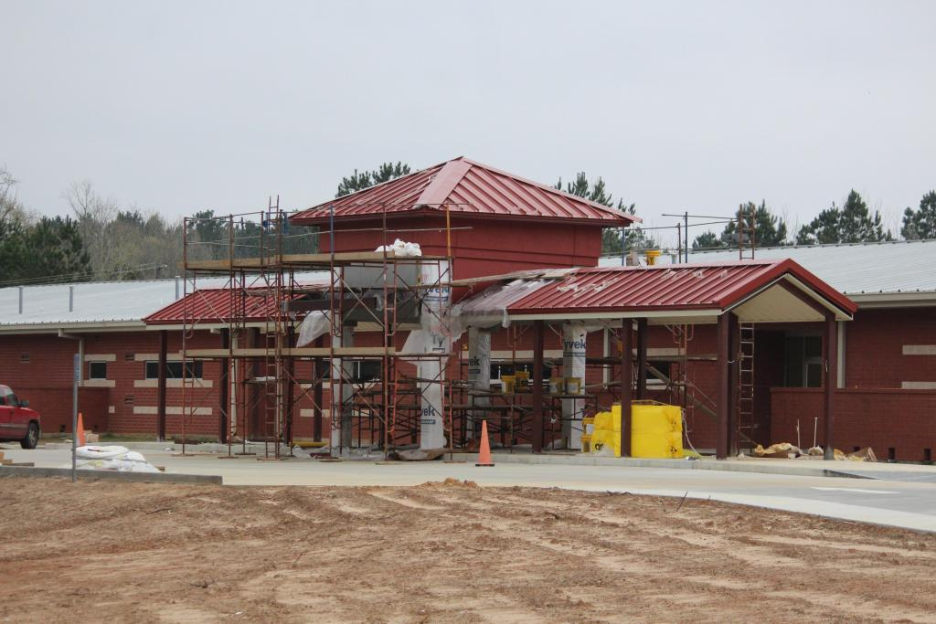 Center Elementary School campus work is nearing completion.