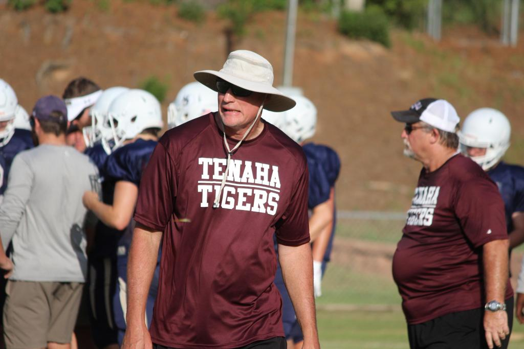Scene from Tenaha Tigers scrimmage with New Diana in August.