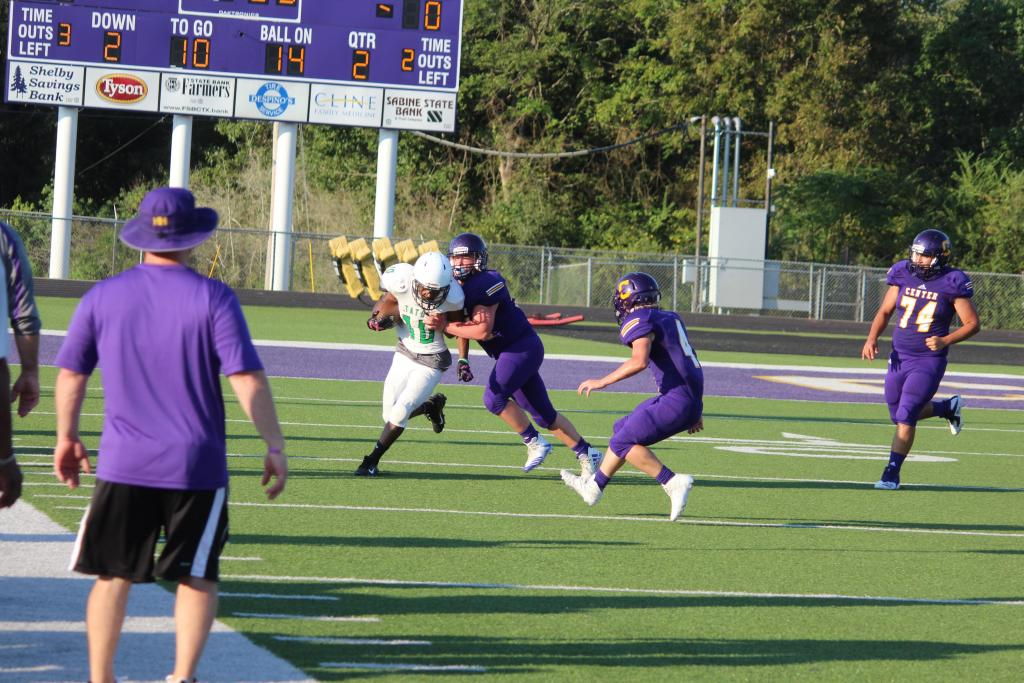 Thursday's Rider JV game was a hard hitting defensive battle.