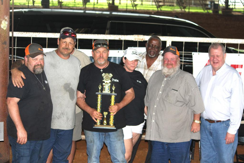 People's Choice winners at Grill Fest were members of the Shelby County Outlaw Cookers.