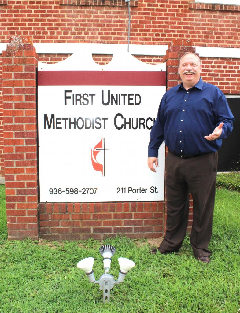 Rev. Malcolm Monroe said he is looking forward to welcoming the community to services, classes and outreach ministries at Center's First United Methodist Church where he recently took over as pastor. (Mike Elswick/The Light and Champion)