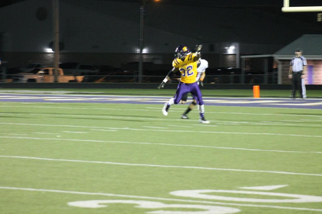 No. 32, Horace in action this past season