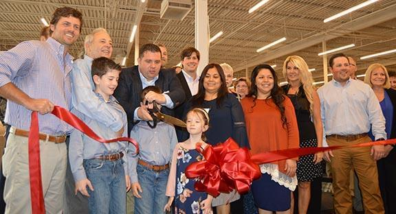 Video And Photos Ribbon Cutting At New Ivan Smith Furniture