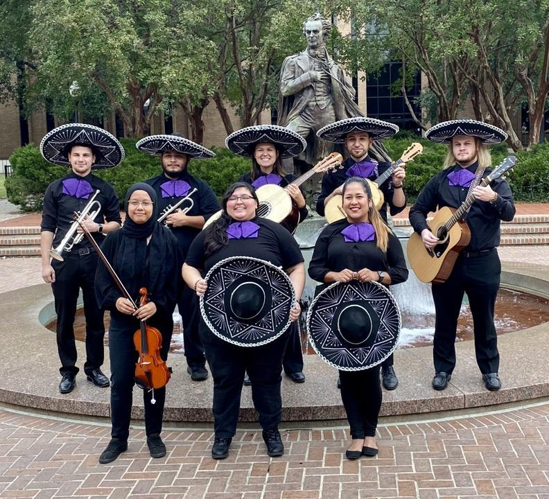 SFA's Mariachi Los Leñadores will present 'Una Noche De Serenatas' at 6 p.m. Wednesday, Dec. 11, in the Music Recital Hall in Wright Music Building on the SFA campus.