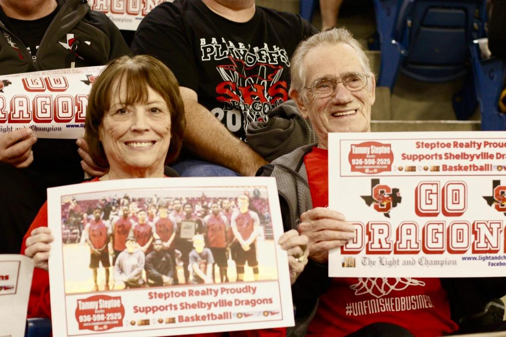 Loyal fans along the way as the Dragons march through playoffs.