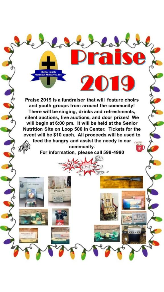 Praise 2019 to feature choirs and youth groups from all over Shelby County.