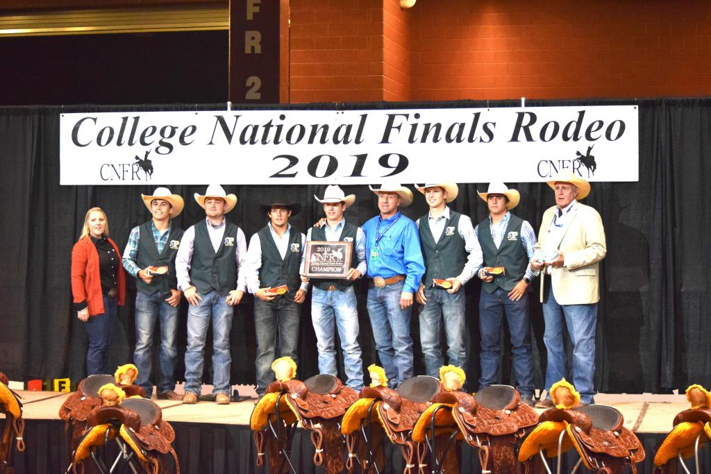 Panola College Men's Rodeo National Championship Team