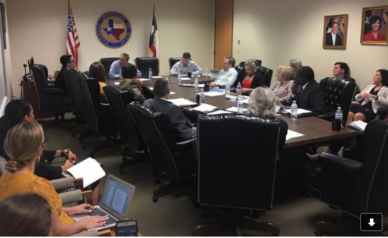 Wayne Christian meets with leaders from education, business and government