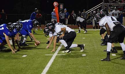The defense shinedFridaynight in Tyler as the Dragons held the All Saints Trojans to a touchdown and field goal, winning 48-10