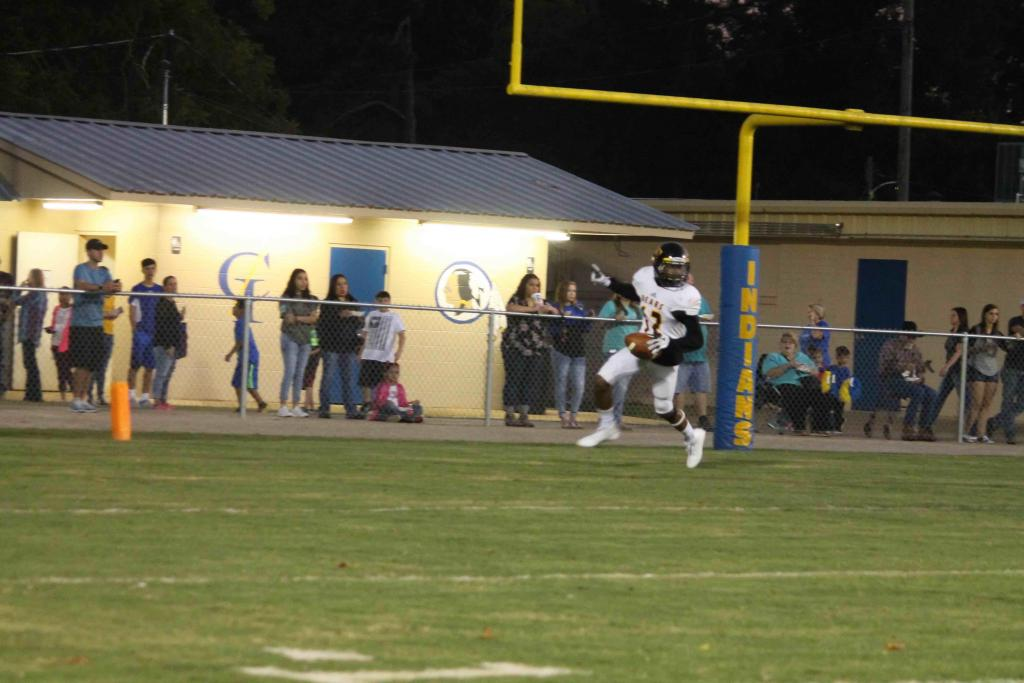 Kaseon Gentry's kick off return touchdown called back