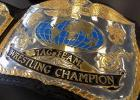 One of Big Daddy Yum Yum's championship belts